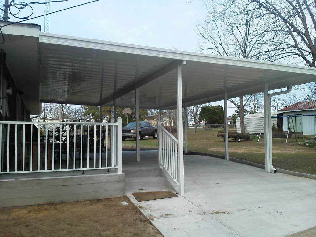 Baton rouge patio covers carports for Homes for sale in baton rouge with swimming pools